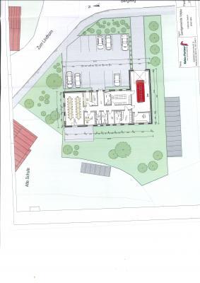 Foto zur Meldung: Neubau Feuerwehrgerätehaus Wahrstedt