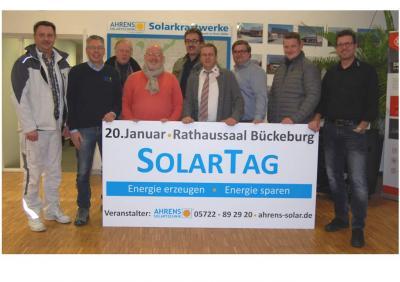 Foto zur Meldung: 17. SolarTag in Bückeburg
