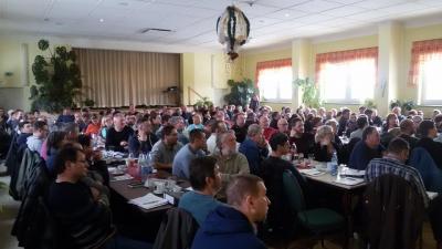 Teilnehmer der Winterschulung zur neuen Düngeverordnung
