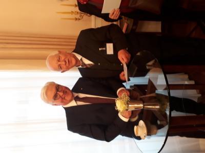 Foto zur Meldung: Bundespräsident Steinmeier lädt Bispinger Fritz Niebergall zum Neujahrsempfang ins Schloss Bellevue