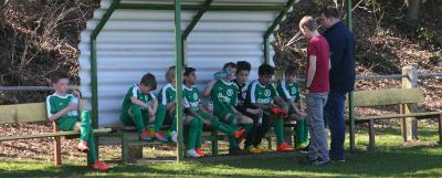 Foto zur Meldung: E-Jugend mit erstem Saisonsieg