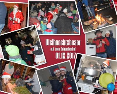 Foto zu Meldung: Erster Weihnachtsbasar auf dem Schweizerhof
