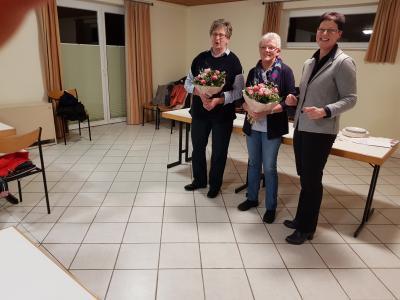 Foto zur Meldung: Frauenchor Jahreshauptversammlung Neuwahlen und Ehrungen