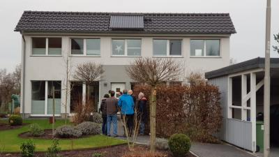 Foto zur Meldung: Besichtigung zertifiziertes Passivhaus in Stadthagen