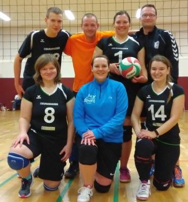 Foto zur Meldung: Laager Volleyballer siegen!
