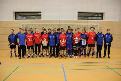 SSC B-Junioren und Mannschaft aus Opalenica
