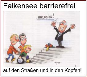 """Nächster """"Offener Treff für Menschen mit und ohne Behinderung zur Umsetzung der UN-Behindertenrechtskonvention in Falkensee – nichts über uns ohne uns"""" am 15. Februar"""