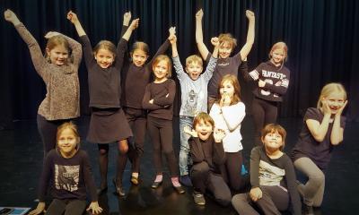 Foto zur Meldung: Schauspieleleven freuen sich auf Besucher am Tag der offenen Theatertür