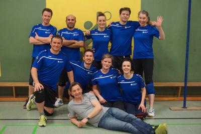 Foto zur Meldung: Francke-Volleys II erneut erfolgreich