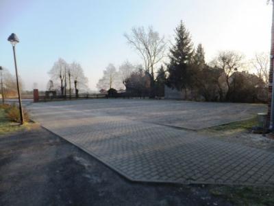 Ansicht des bestehenden Parkplatzes