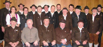 Foto zur Meldung: 915 Jahre bei den Antdorfer Schützen
