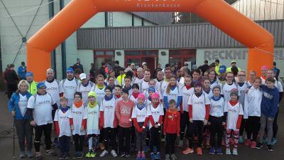 Foto zur Meldung: VIACTIV-Neujahrslauf mit über 100 Teilnehmern