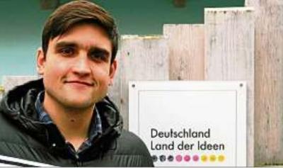 Christopher Kaufmann leitet das Projekt Landengel