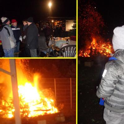 Foto zu Meldung: Weihnachtsbäume verbrannt