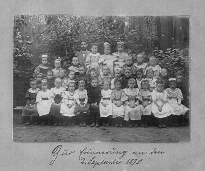 Schulfoto von 1895
