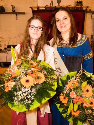 Vorschaubild zur Meldung: Angelina ist das neue Burgfräulein von Neustadt-Glewe