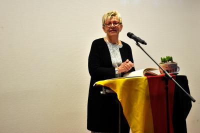 Vorschaubild zur Meldung: Bürgermeisterin lud zum ersten Neujahrsempfang in FFW