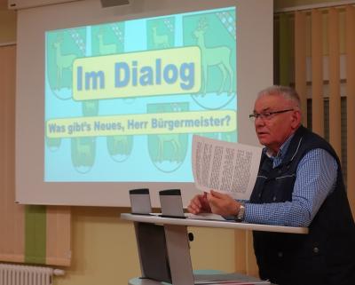 Foto zu Meldung: Bürgerdialog - von Straßenbau bis Hundekot