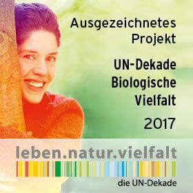 Vorschaubild zur Meldung: Projekt des Monats Januar der UN Dekade Biologische Vielfalt