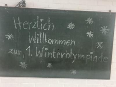 Foto zur Meldung: 1.Winterolympiade