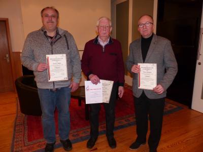 Foto zu Meldung: MGV Schenklengsfeld ehrt langjährige Mitglieder