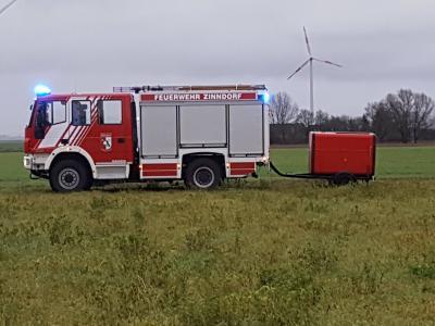 Foto zu Meldung: Sehr gute Bilanz der Zinndorfer Feuerwehr