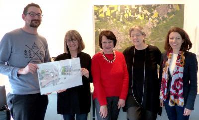 Für Kunst im Alltag: Stadtleitbildgruppe und Stadt stellen den Kunst-Wettbewerb vor