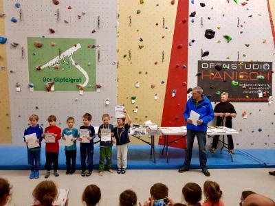 Foto zur Meldung: Kreis-Kinder- und Jugendspiele im Sportklettern