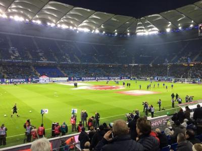 Foto zur Meldung: Germania - Zu Gast beim HSV gegen H96