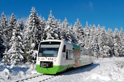 Vorschaubild zur Meldung: Fahrplan der Süd-Thüringen-Bahn 2020