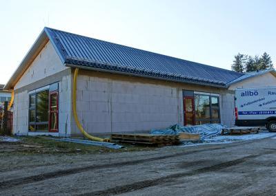 Foto zur Meldung: Innenarbeiten im Kita-Erweiterungsbau