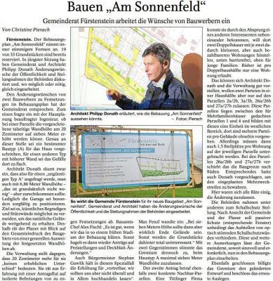 """Vorschaubild zur Meldung: Bauen """"Am Sonnenfeld"""""""