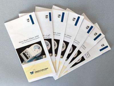 Faltblätter in mehreren Sprachen | Foto: Landkreis TF