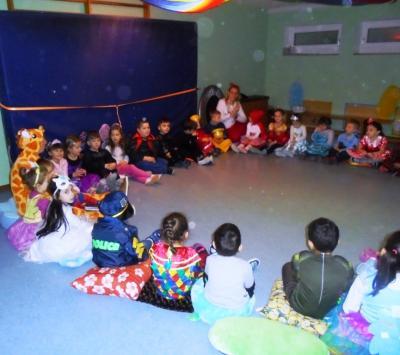 Vorschaubild zur Meldung: Faschingsparty im Kindergarten Pfarracker