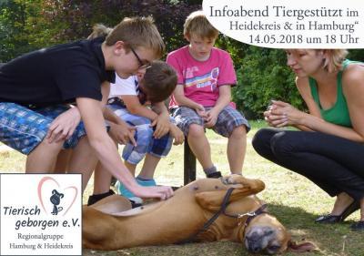 """Vorschaubild zur Meldung: Infoabend """"Tiergestützt in Hamburg & Heidekreis"""""""