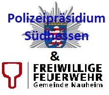 Vorschaubild zur Meldung: Einsatz in Nauheim - Feuerwehr & Polizei berichten
