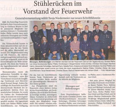 Auszug Der Bayerwald Bote 09.02.2018