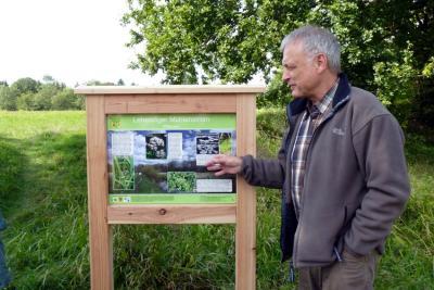 Foto zur Meldung: Unterstützer für Naturlehrpfadschilder gesucht