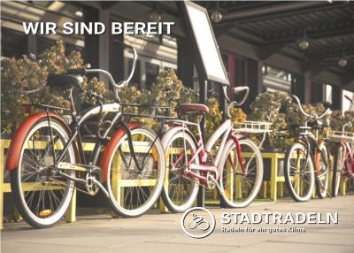 Postkarte Stadtradeln
