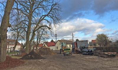 Foto zu Meldung: Wensickendorf: Ein neuer Spielplatz entsteht