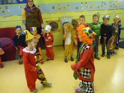 Vorschaubild zur Meldung: Kindergarten Hegelstrasse feiert zwei Tage Fasching