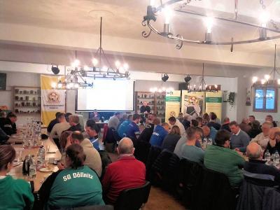 Foto zur Meldung: 2.Informationsveranstaltung/ Vorstandstreff des KFV Fußball Saalekreis Saison 2017/18