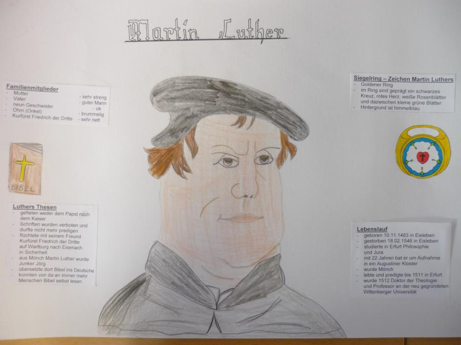 Friedrich Ludwig Jahn Grundschule Luckenwalde Klasse 5a Martin Luther