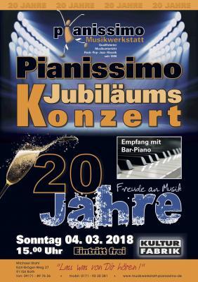 Vorschaubild zur Meldung: Pianissimo-Konzert 20. Jubiläum