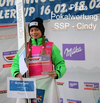 Foto zur Meldung: Cindy Haasch gewinnt Deutschen Schülercup