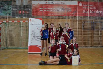 Foto zur Meldung: Kreisfinale Handball WK IV weiblich