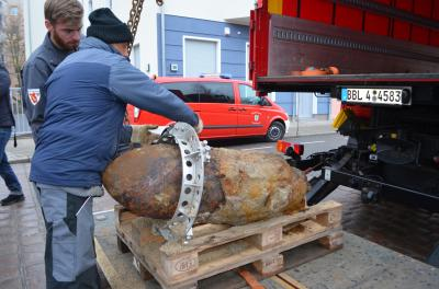 Foto zu Meldung: Aktuelle Informationen zur Kampfmittelsuche in Oranienburg