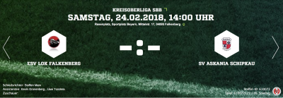 Foto zur Meldung: Fußball: Rückrundenauftakt für unsere I. - fällt aus +++