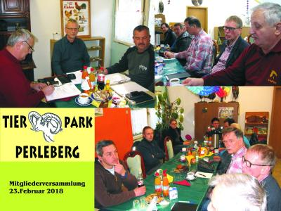 Vorschaubild zur Meldung: Mitgliederversammlung des Fördervereins Tierpark Perleberg