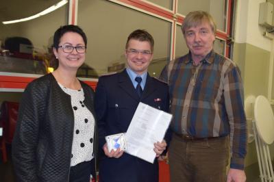 Vorschaubild zur Meldung: Jahreshauptversammlung der Freiwilligen Feuerwehr Düpow
